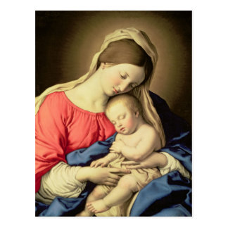 Madonna and Child 3 Postcard