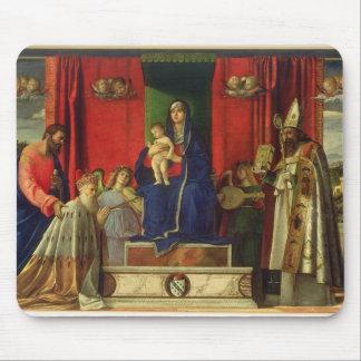 Madonna and Child (Barbarigo Altarpiece) 1488 Mouse Pad