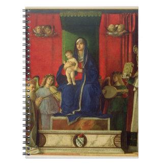 Madonna and Child (Barbarigo Altarpiece) 1488 Notebooks