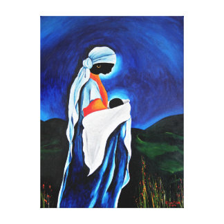 Madonna and child - Beloved Son 2008 Canvas Print