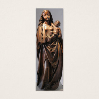 Madonna and Child Bookmark Mini Business Card