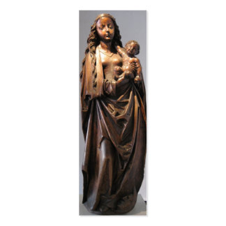 Madonna and Child Bookmark Pack Of Skinny Business Cards
