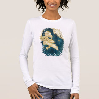 Madonna and Child, Bourgogne School (oil on panel) Long Sleeve T-Shirt