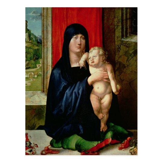 Madonna and Child, c.1496-99 Postcard