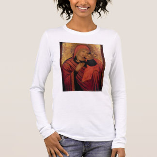 Madonna and Child, c.1650 (panel) Long Sleeve T-Shirt