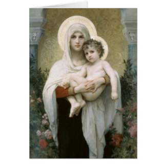 Madonna and Child Card