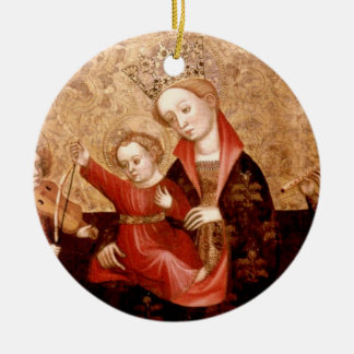 Madonna and Child: Catalunya Christmas Ornament