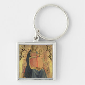 Madonna and Child, central panel of a triptych Key Ring