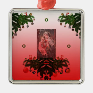 Madonna and Child [Christmas] Christmas Ornament