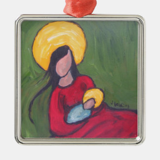 Madonna and Child Christmas Ornament
