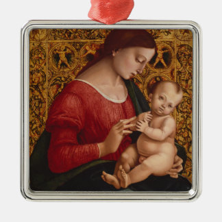 Madonna and Child, circa 1505-07 Christmas Ornament