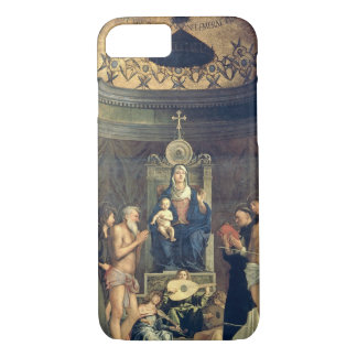 Madonna and Child Enthroned between SS. Francis, J iPhone 8/7 Case