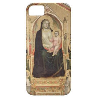 Madonna and Child Enthroned, c.1300-03 (PRE-restor iPhone 5 Cases