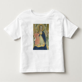 Madonna and Child enthroned with Saints, detail sh Toddler T-Shirt