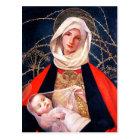 Madonna and Child. Fine Art Christmas Postcards