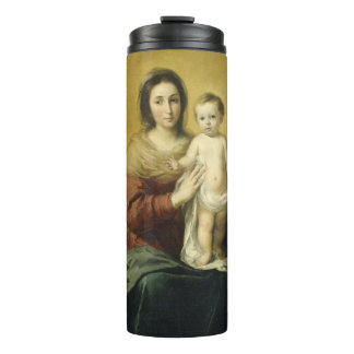 Madonna and Child, Fine Art Christmas Thermal Tumb Thermal Tumbler