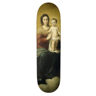 Madonna and Child, Fine Art Skateboard