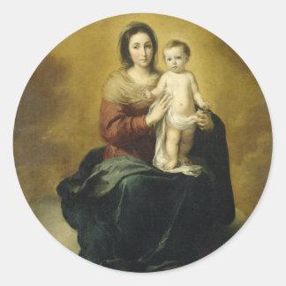 Madonna and Child, Fine Art Sticker