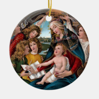Madonna and Child: Florence, Italy Christmas Ornament