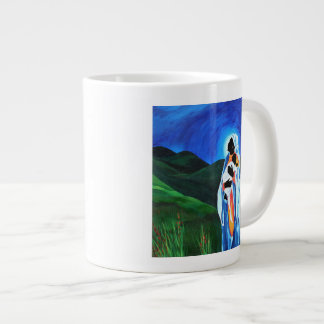Madonna and child - Hope for the world 2008 Large Coffee Mug