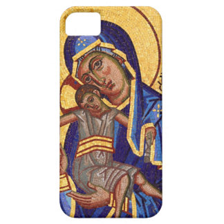 madonna and child iPhone 5 cases