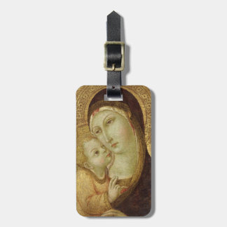Madonna and Child Luggage Tag
