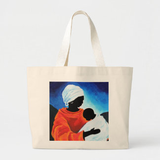 Madonna and child - Lullabye 2008 Large Tote Bag