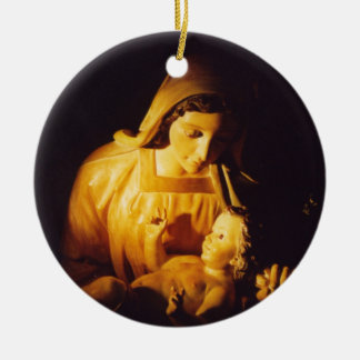 Madonna and Child: Madrid Christmas Ornament