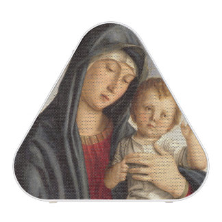 Madonna and Child (oil on panel) 2