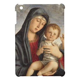 Madonna and Child (oil on panel) 2 iPad Mini Covers