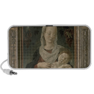 Madonna and Child (oil on panel) Notebook Speaker