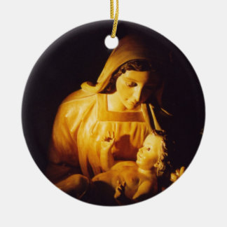 Madonna and Child Ornament, Spain Christmas Ornament