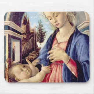 Madonna and Child (panel) 2 Mouse Mat