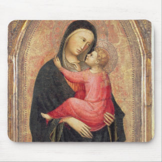 Madonna and Child (panel) 3 Mouse Mat