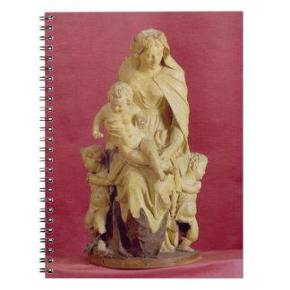 Madonna and Child (papier mache) Notebook