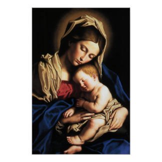 Madonna and Child poster