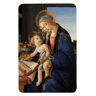 Madonna and Child Rectangle Magnets