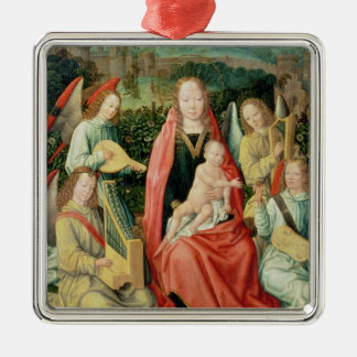 Madonna and Child surrounded by Angels Christmas Ornament