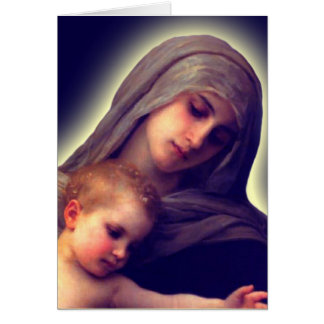 Madonna and Child Thank You Cards