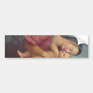 Madonna and Child (The Tempi Madonna) by Raphael Bumper Sticker