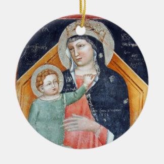 Madonna and Child: Verona Christmas Ornament