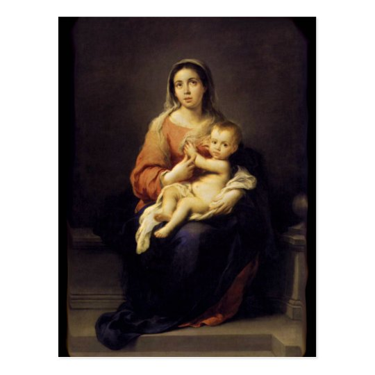 Madonna and Child - Virgin Mary - Murillo