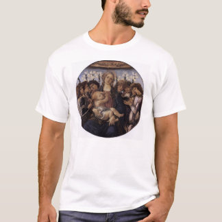 Madonna and Child with Eight Angels T-Shirt
