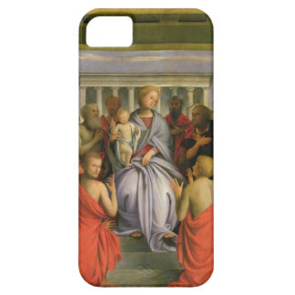 Madonna and Child with Eight Saints, 1520s (temper Barely There iPhone 5 Case