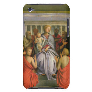 Madonna and Child with Eight Saints, 1520s (temper iPod Touch Cases