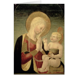 Madonna and Child with Pomegranate Card
