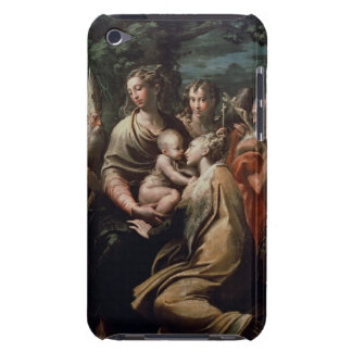 Madonna and Child with Saints, c.1529 (oil on pane iPod Case-Mate Case