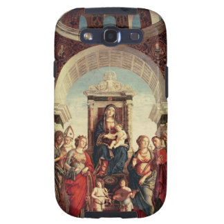 Madonna and Child with Saints Galaxy SIII Cover