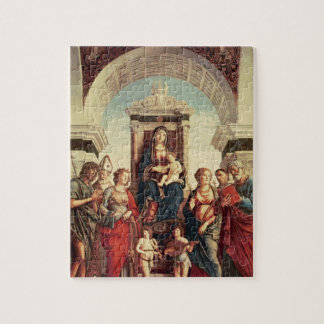 Madonna and Child with Saints Jigsaw Puzzle