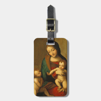 Madonna and Child with Saints Luggage Tag